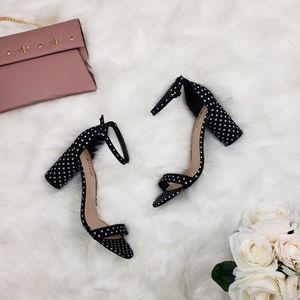 8baece95dba Women s Black And White Justfab Ankle Strap Sandals on Poshmark
